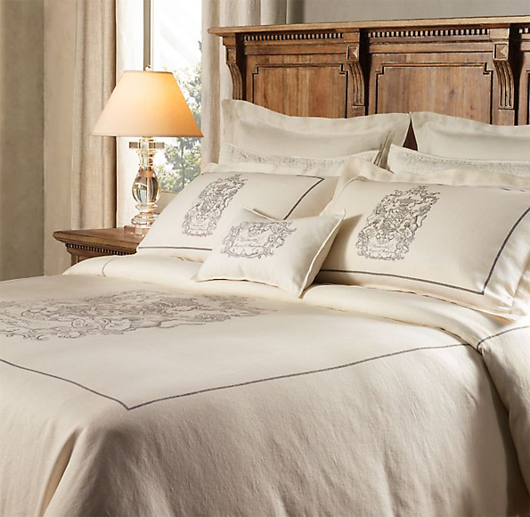linen bedding at restoration hardware bedding chic - Restoration Hardware Bedding
