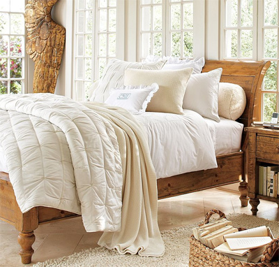 A Dreamy Look From Pottery Barn Bedding Chic