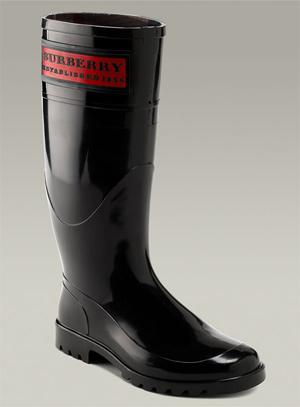 Millenium Fashion of World: Burberry Rain Boots